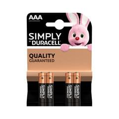 Duracell Simply AAA (MN2400/LR03) K4